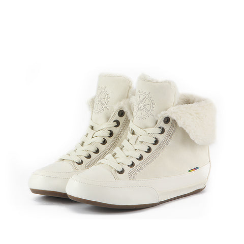 Novara High-Top Sneakers (Angora)