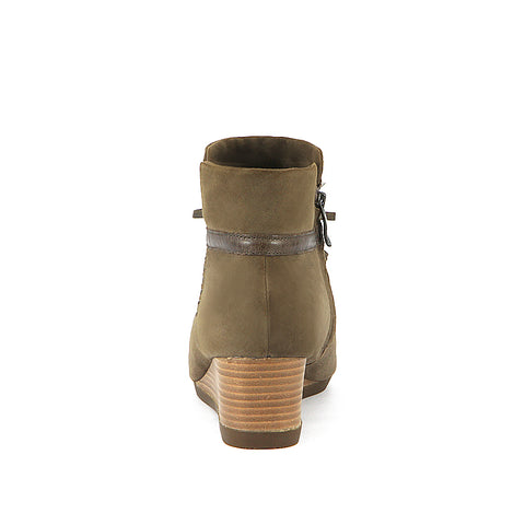Final: Weyburn Bow Ankle Boots (Taupe)