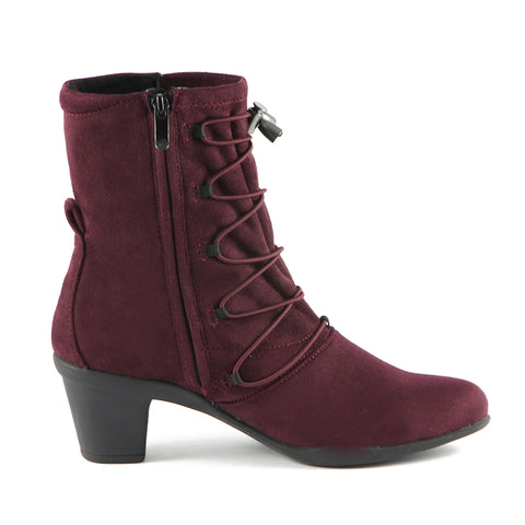 Teslin Stretch Ankle Boots (Henna)