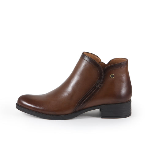 Siena Ankle Boots (Luggage)