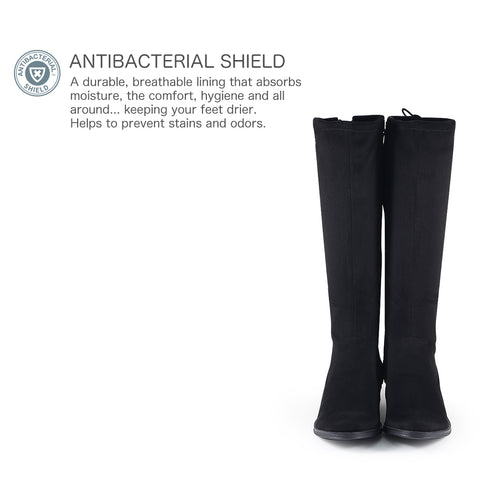 Siena Stretch Boots (Black)