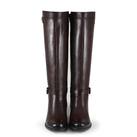 Antwerpen Knee-High Boots (Brown)
