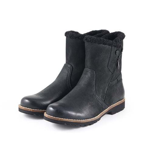 Kalahari Zipper Ankle Boots (Black)