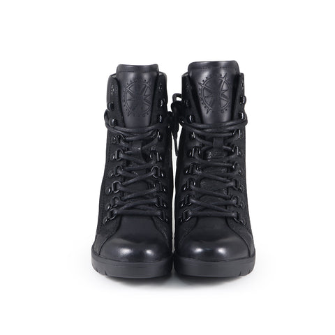 Bucharest Mountain Ankle Boots (Black)