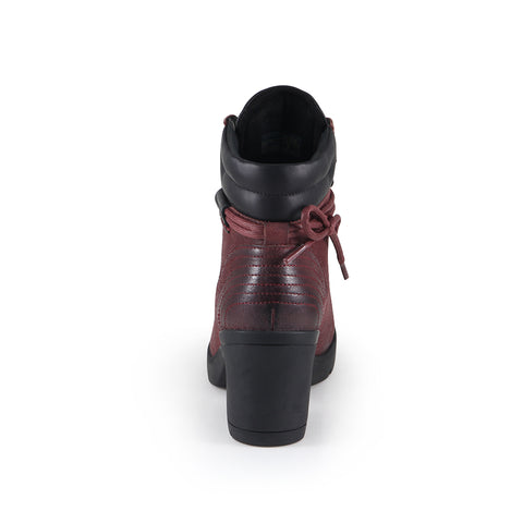 Bucharest Mountain Ankle Boots (Merlot)