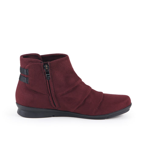 Coimbra Stretch Booties (Merlot)