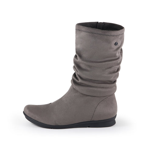 Coimbra Stretch Mid-Calf Boots (Fossil)