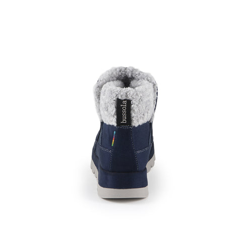 Davina Wool Ankle Boots (Denim)