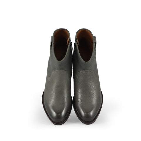 Alameda Western Ankle Boots (Charcoal)