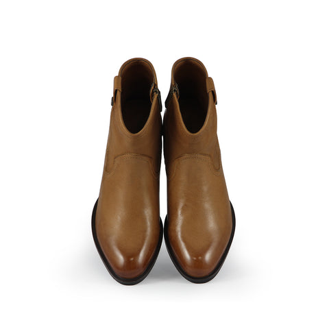 Alameda Western Ankle Boots (Cuoio)