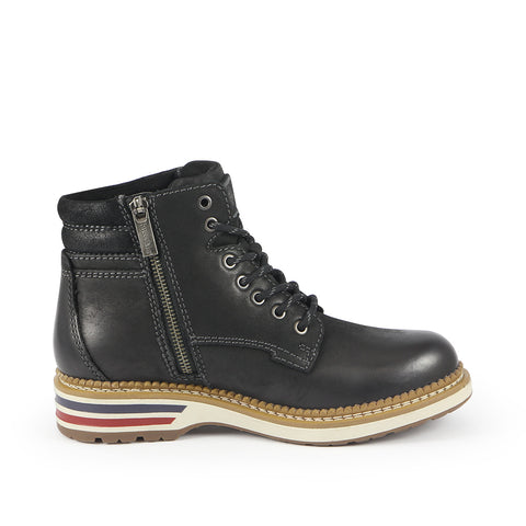 Ellen Mountain Ankle Boots (Black)