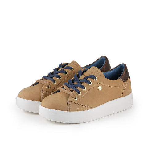 Lizzy Lace-Up Sneakers (Doe)
