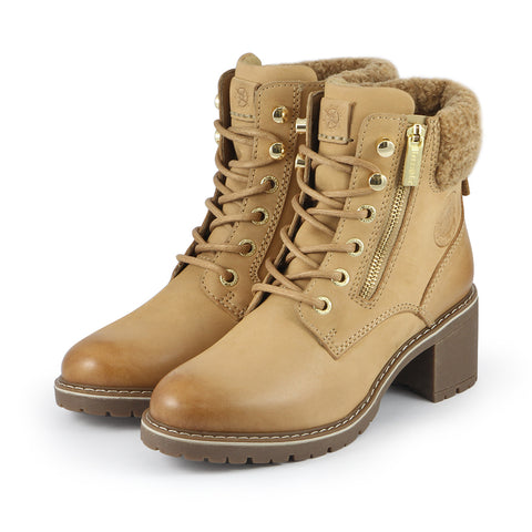 Gaia Heel Mountain Ankle Boots (Doe)