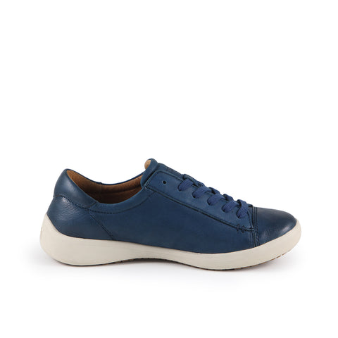 Lecce Lace-Up Sneakers (Denim)