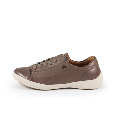 Lecce Lace-Up Sneakers (Fossil)