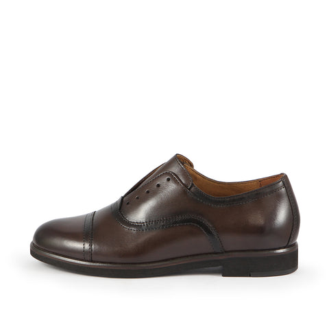 Honoria Oxford Shoes (Brown)