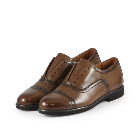 Honoria Oxford Shoes (Luggage)