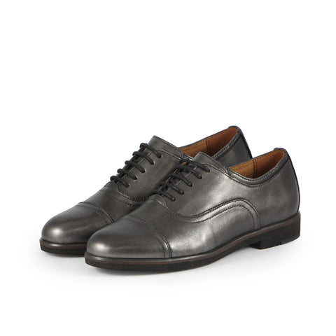 Honoria Oxford Shoes (Pewter)
