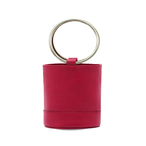 Washington Mini metal handle bag
