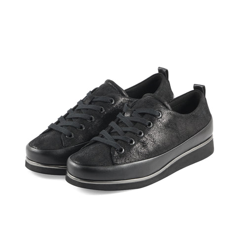 Koln Lace-Up Shoes (Black)