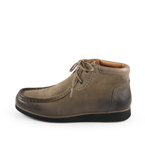 Koln Wallabee Boots (Taupe)