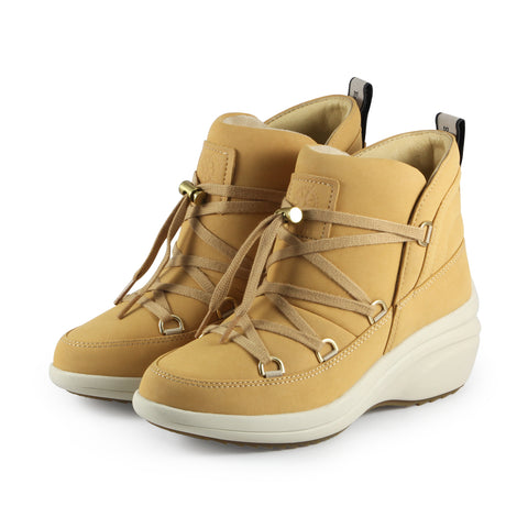 Yokohama High-Top Lace-Up Sneakers  (Deserto)