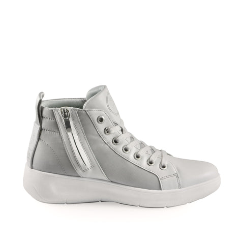 Ostuni High-Top Lace-Up Sneakers (Vapor)