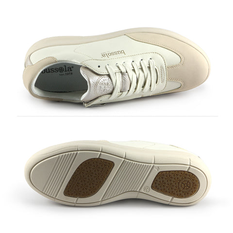 Ostuni Lace-Up Sneakers (Bone)