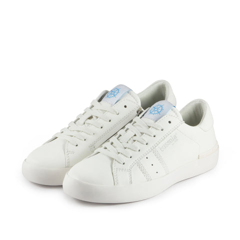 Toscana Lace-Up Sneakers (Bianco)
