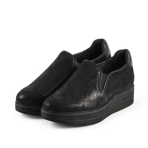 Portofino Slip-On Shoes (Metal Washed Black)