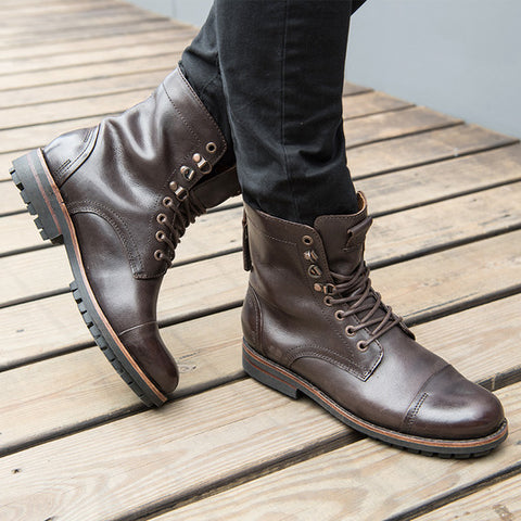 Bowmore Military Boots (Ebony)