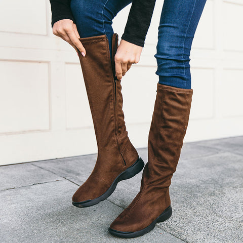 Nagoya Stretch Boots (Fossil)