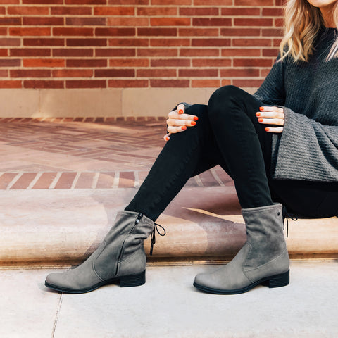Siena Stretch Ankle Boots (Fossil)