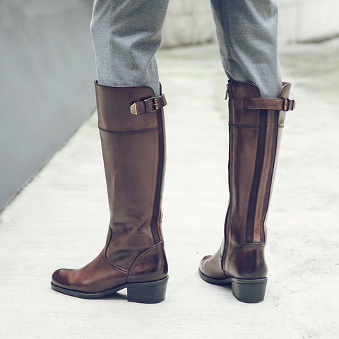 Antwerpen Riding Boots (Brown)