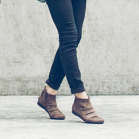 Final-Coimbra Stretch Booties (Charcoal)