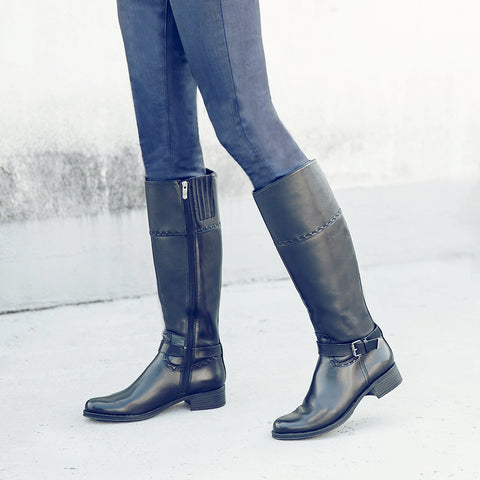 Siena Riding Boots (Black)