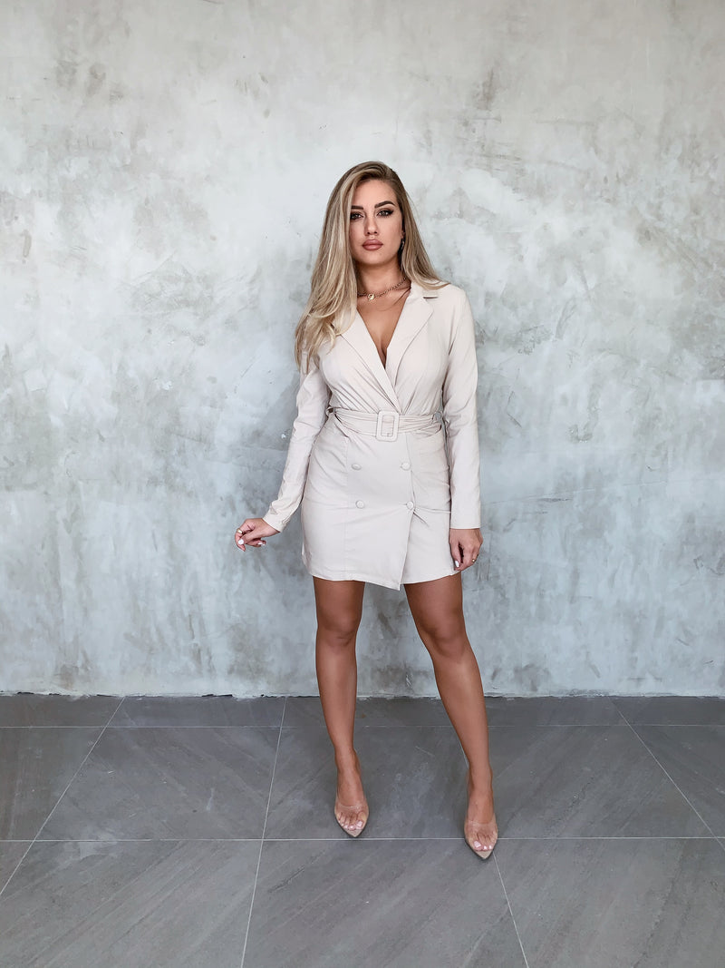 Chantel Taupe Dress