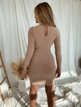Dena Khaki Dress