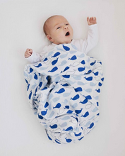 Load image into Gallery viewer, XXL Swaddle Organic Bamboo • Whale