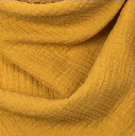 mustard muslin cotton blanket