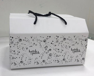 Hutch and Putch branded gift box