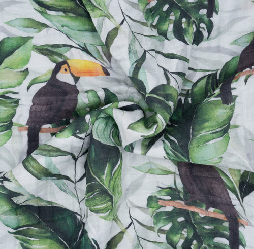 Summer Blanket  Organic Cotton • Toucan