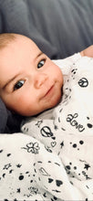Load image into Gallery viewer, XXL Swaddle Organic Cotton • Love & Peace