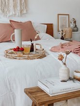 Load image into Gallery viewer, Offwhite bed linen made of organic cotton