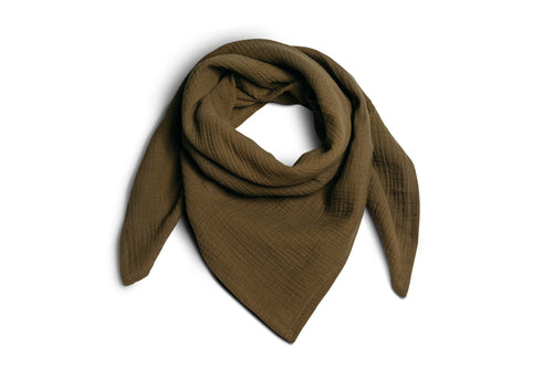 muslin scarf for adults made of organic cotton
