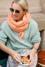 Load image into Gallery viewer, Mama Muslin Scarf • Apricot