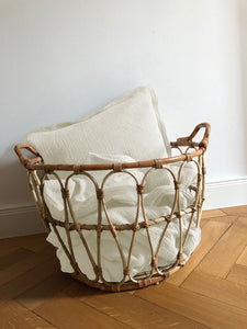 Muslin Cushion Cover • Offwhite