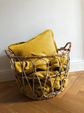 Load image into Gallery viewer, Muslin Cushion Cover • Mustard