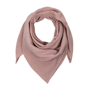 Mama Muslin Scarf • Delicate Pink