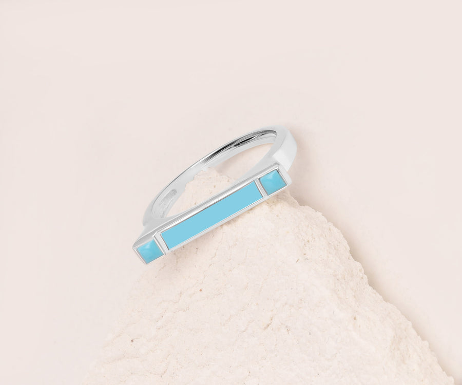 ENAMEL DASH RING